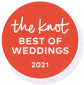 Kelly was nominated as par of The Knots best of weddings in 2021